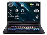 Acer Predator Triton 500 PT515-52- Ordenador Portátil de 15,6' Full HD, Procesador Intel Core i7-10750H, RAM de 16GB, SSD de 1TB, NVIDIA GeForce RTX 2080, Windows 10 home, Negro Teclado Qwerty Español
