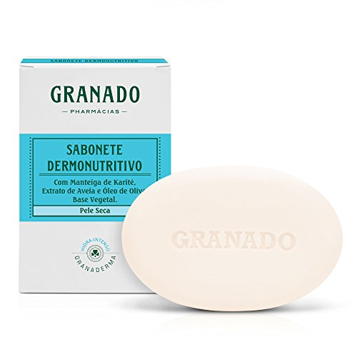 Sabonete Dermonutritivo, Granado, Azul claro, 90g