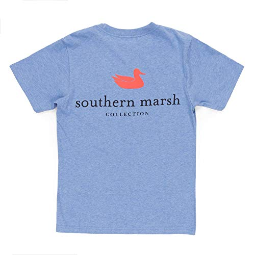 Youth Authentic, Washed Blue, Youth Small