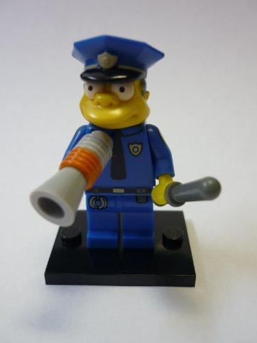 LEGO 71005 - Minifigur Chief Wiggum aus der Sammelfiguren-Serie The Simpsons