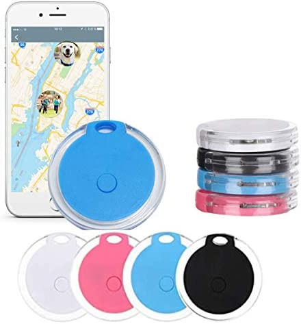 4 Pack Smart Bluetooth Tracker Bluetooth Key Finder Key Locator Device with App GPS Tracking product image