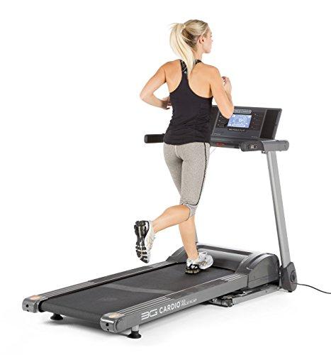 3G Cardio 80i Fold Flat Incline Treadmill - Folds Flat Storage Treadmill - Store Under a Bed - Compact Runner's Treadmill - 325 LB User Capacity