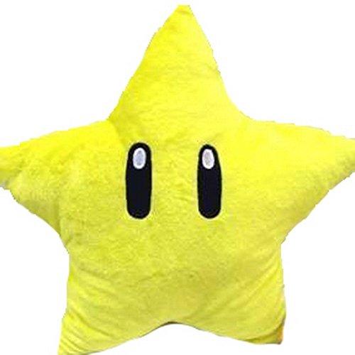 Manchester caso 27,94 cm peluche de felpa suave del juguete de la felpa de la estrella de forma de estrella ebean muñeca