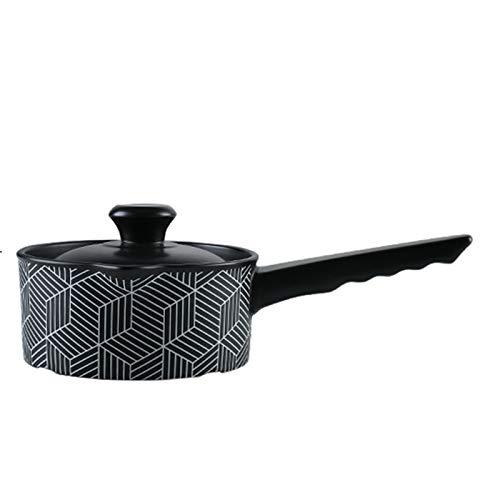 WOLJW Moroccan Original-Tajine Keramik Taji Topf mit Griff Hitzebeständige Suppentopf 1L Taj Mahal Geschirr mit Deckel geeignet für offene Flamme Gasherd