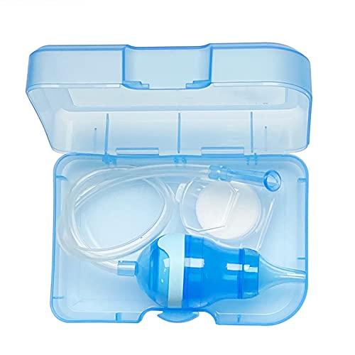 UPTOTO Baby Nasensauger - Filter von Sekretrückfluss in den Mund – Wird mit dem Mund betrieben | Silikon | Sterilisierbar