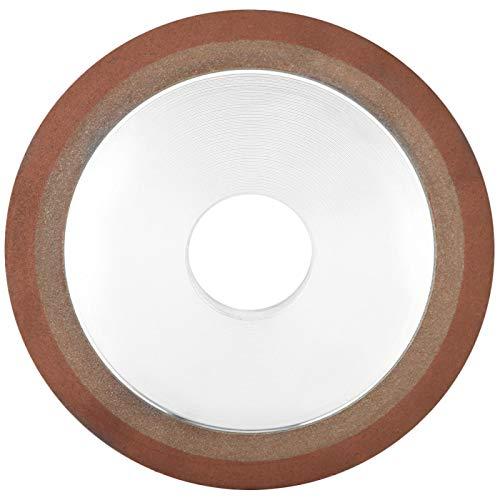 Disco abrasivo de diamante afilado de 125 mm x 32 mm Disco abrasivo duradero para rectificar acero duro de carburo (4,9 pulgadas * 1,3 pulgadas)