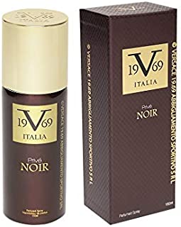 V 19.69 Versace 1969 Prive Noir EDP Perfume Spray For Men