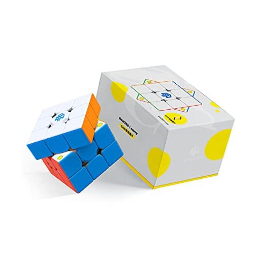 GAN 356 i Carry 3x3 Smart Speed Cube sin Stickers, Cubo Seguimiento Inteligente Movimiento de Sincronización Paso con CubeStation App