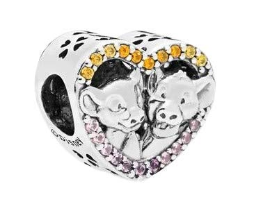 Lion King Charm Collection - Authentic S925 Sterling Silver For Charm Bracelets (Simba and Nala)