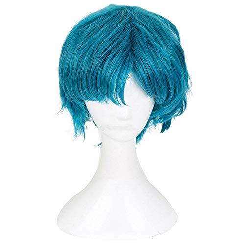 Xingwang Queen Anime Mizuno Ami Cosplay Wig Women Girls' Party Wigs with Free Cap Blue