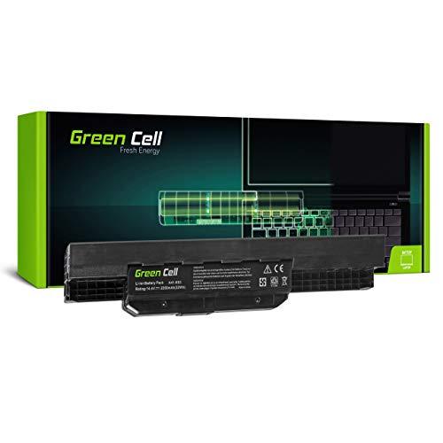 Green Cell Batería para ASUS A53SD-SX200V A53SD-SX203 A53SD-SX208V A53SD-SX279V A53SD-SX375V A53SD-SX453V A53SD-SX731V A53SD-TS71 A53SD-TS73 A53SJ Portátil (2200mAh 14.4V Negro)
