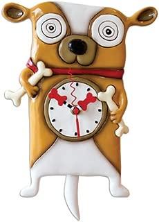 Allen Designs Roofus Dog Pendulum Clock