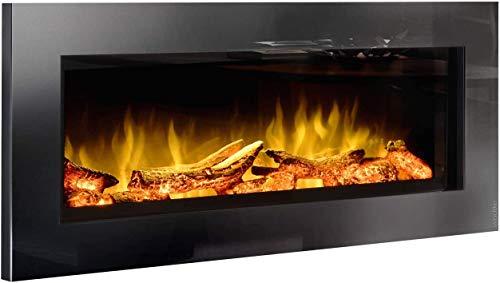 Elektrische haard wodtke feel the flame No.1 - keramische houten schede (LED vlameffect, 20 W stroomverbruik, max. 2 KW verwarmingsvermogen, onderhoudsvrij, afstandsbediening incl.)