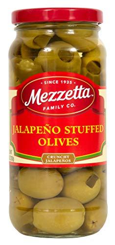 Mezzetta Stuffed Olives, Jalapeno, 10 Ounce