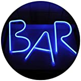 Bar Neon Light Sign Led Néon Appliques Murales Art Décoratif Veilleuse pour Bar Pub Home Decor...