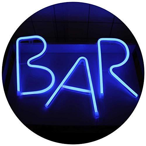 Bar Neon Light Sign Led Néon Appliques Murales Art Décoratif Veilleuse pour Bar Pub Home Decor Partie Accessoires