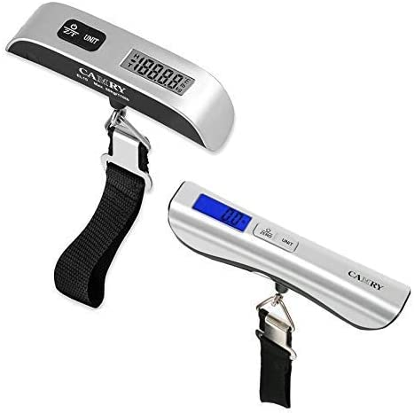 Digital Luggage Scale Portable Handheld Baggage Scale for Travel Suitcase Scale with Hook 110 product image