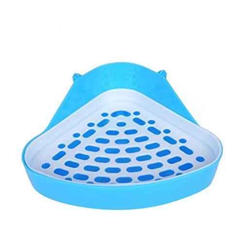 1 Packung Triangle Potty Trainer Corner Wurf Bedding Box Pet Pan Für Kleintier Kaninchen Meerschweinchen Chinchilla - Zufällige Farbe Praktisches Werkzeug