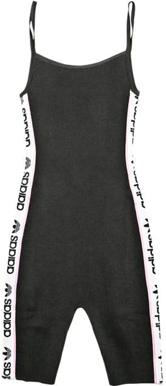Adidas Women's Originals Knitted Body Suit Dz0101 Black