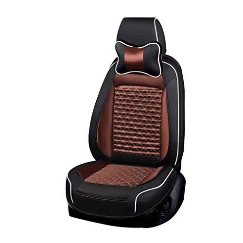 SZ JIAOJIAO 6-delige complete set & achterste Seat anti-slip afdekking auto zitkussen Fit 5-zits compatibel met Volvo