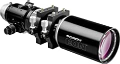 Beautifully crafted refractor with a 110mm (4.3 inch) air-spaced doublet lens made with FPL-51 ED glass Fairly fast, f/6.0 refractor with outstanding color correction for great wide-field astrophotographic or visual use Three optimally positioned kni...