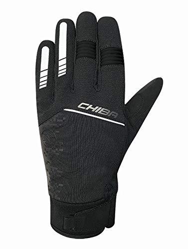 Chiba Rain Touch II Winter Fahrrad Handschuhe wasserdicht schwarz 2020: Größe: S (7)
