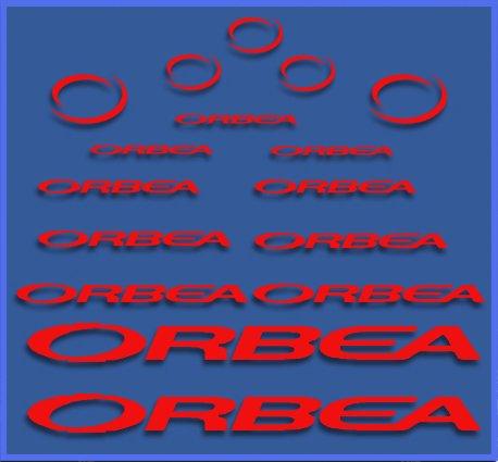 Ecoshirt Q0-B4Q3-BARC Pegatinas Orbea Dr04 Vinilo