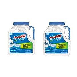 DampRid FG37 Moisture Absorber Refill, 7.5 lb, Fragrance Free 2-Pack 5