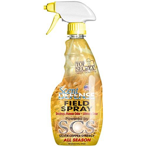 Best Buy! Top Secret Deer Scent Defense Field Spray, Yellow, 16 oz