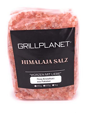 Rosa Kristallsalz auch Himalaya Salz genannt 1 kg grob 2-5 mm ohne Zusatzstoffe