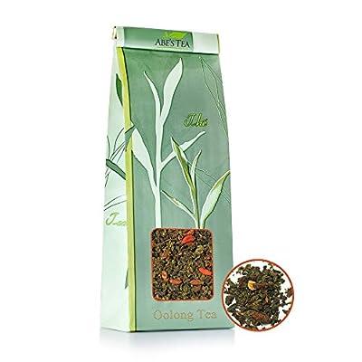 Thé Abe | Thé Oolong | Loose Leaf Tea | Saveur: choix Aicha Oolong, ange gardien, fleur | 100 g - 600 grammes | naturel | Antioxydants, balle anti-stress | Feuilles du Japon, de Chine et l'Inde