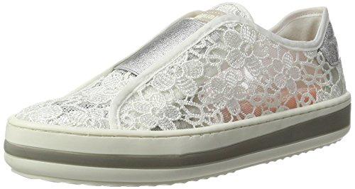 Desigual Damen Funk LACE 1 Sneaker, Weiß (Blanco), 40 EU