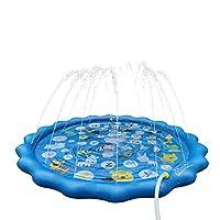 [Irrigatore grande da 68 pollici] L'irrigatore di dimensioni familiari consente a più bambini, ragazzi e ragazze di giocare insieme. I bambini e le famiglie possono promuovere la comunicazione e le relazioni. Il miglior regalo per i bambini. [Facile ...