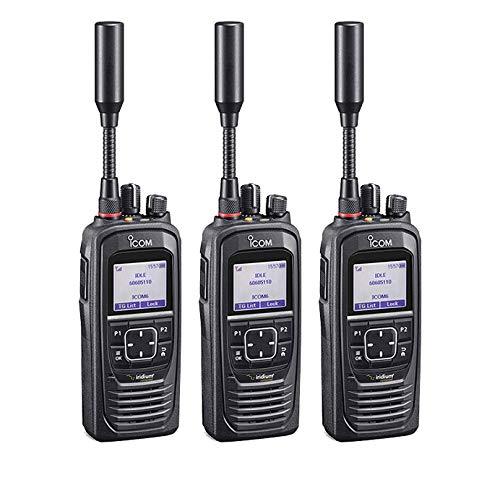Icom IC-SAT100 Handheld Iridium Push-to-Talk Radio 3-Pack