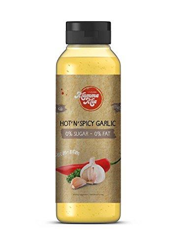 GymQueen Mamma Mia Zero Saucen - 265ml - Hot N Spicy Garlic