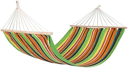 Amaca Amaca da viaggio per campeggio all'aperto-giardino, amaca portatile in tela ispessita e allargata, amaca con borsa per il trasporto, perfetta per il campeggio