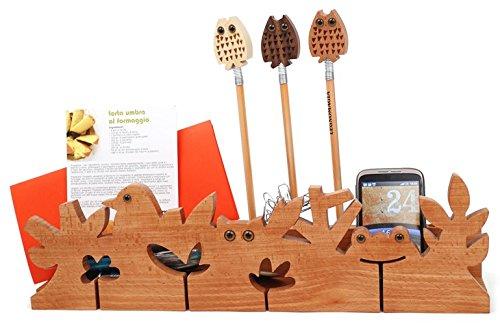 Legnomagia Wild Forest Desk portapenne