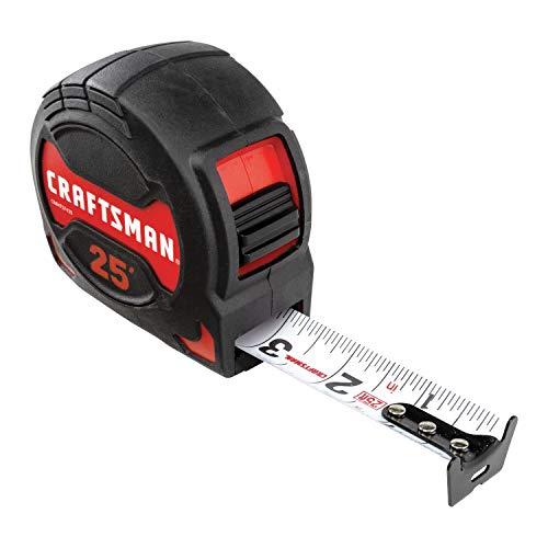 CRAFTSMAN Tape Measure, PRO-10, 25-Foot (CMHT37425)