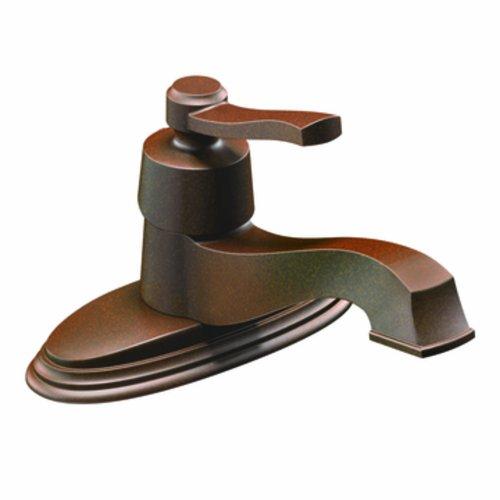Big Sale Best Cheap Deals Moen 6202ORB Rothbury One-Handle Low Arc Bathroom Faucet, Oil Rubbed Bronze (Not CA / VT Compliant)