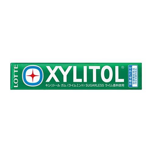 Lotte Xylit Kaugummi & lt; Kalkminze & gt; 21 g (14 Tabletten) X20 St?cke