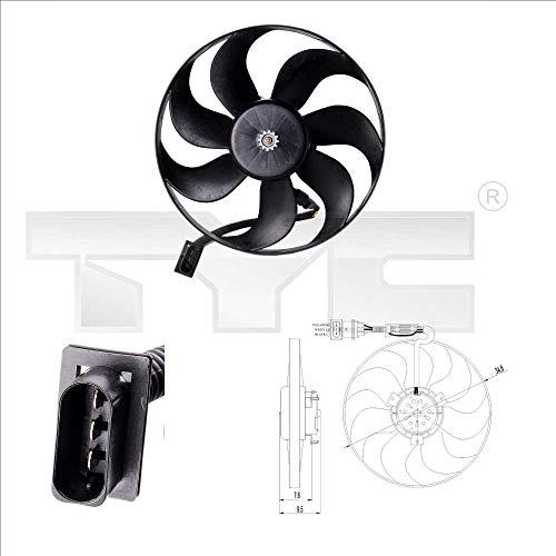 tyc - Moto-Ventilateur Pour Seat Arosa De 02/1997 À 10/2000 Avec Climatisation (Moteur + Hélice)
