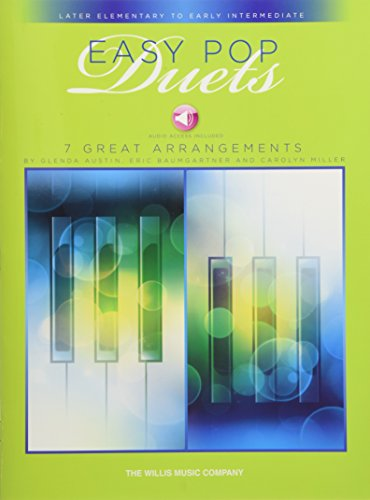 Easy Pop Duets Piano +Enregistrements Online
