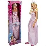 Muñeca grande 105 cm Princesa, Juguetes niños y niñas 3 años, Muñecas para peinar, Muñecas articuladas, Princesas de juguete, Zapatos niña princesa, Corona niña princesa