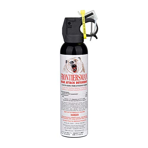 SABRE Frontiersman Bear Spray 9.2 oz - Maximum Strength & Larger Protective Barrier!