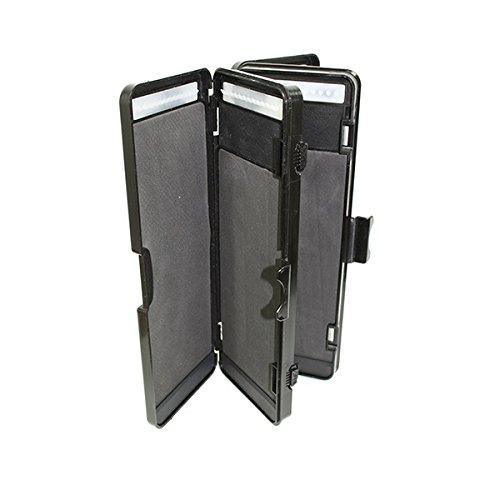 72 fach Stiff Rig Wallet Box Tackle Box Karpfen Vorfachtasche Rig Board Hakenbox