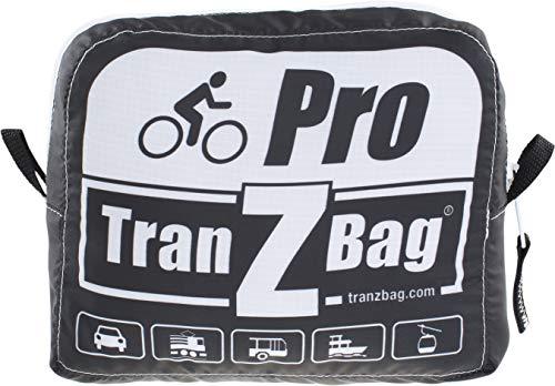 TranZbag PRO Fahrrad Transporttasche, Black, One Size