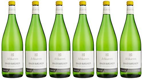 Achkarren Grauburgunder Qualitätswein trocken (6 x 1 l)