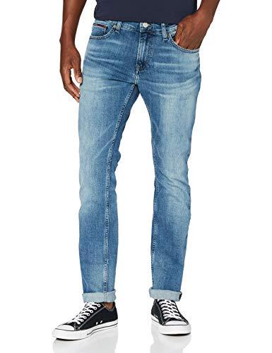 Tommy Jeans Homme SCANTON SLIM PMBCF Pantalon, Portobello Mid Blue Comfort, W30/L34