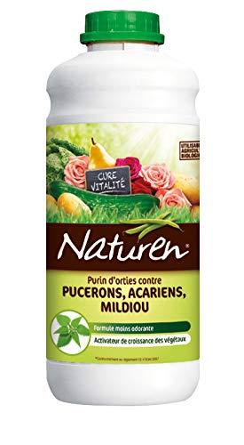 NATUREN purín en Miniatura de Orties contra Pucerons Acariens mildiu Concentrado 1L