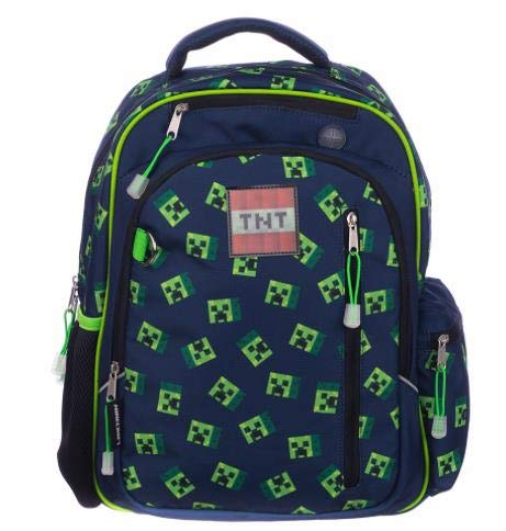 """Kids Minecraft 16"""" Dome Backpack"""